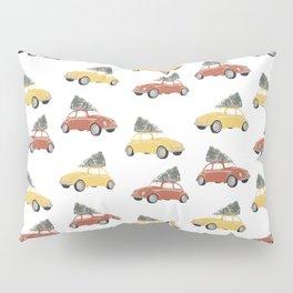 Christmas Cars 1 Pillow Sham