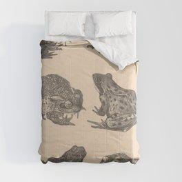 Naturalist Frogs Comforters