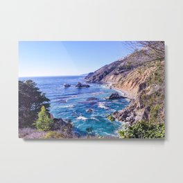California Dreamin - Big Sur Metal Print
