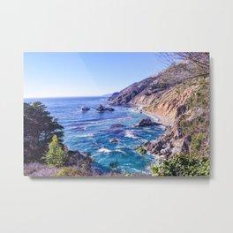 California Dreamin - Big Sur Metal Print