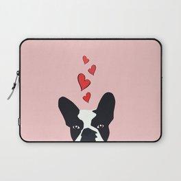 Bulldog Love Laptop Sleeve