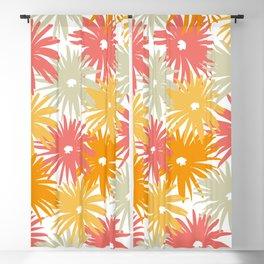 Flowers III Blackout Curtain