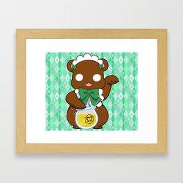 Lily Bear Lulu Framed Art Print