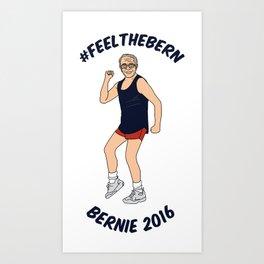 #feelthebern Art Print
