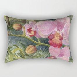 Orchid Beauty Rectangular Pillow