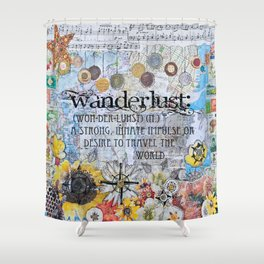 Wanderlust Shower Curtain