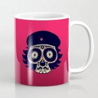 che Mugs featuring Che by mangulica