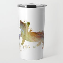 Cat art Travel Mug