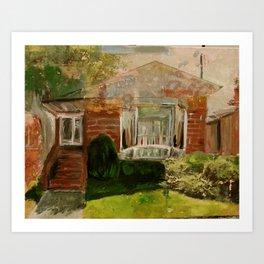 The Suburbs Art Print