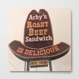 Awesome Arby Metal Print