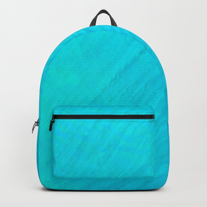 Turquoise Marble River Backpack
