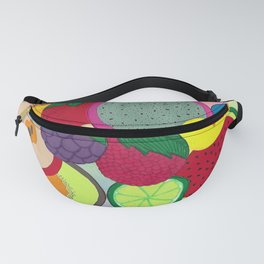 Fruity Circular Slices Fanny Pack