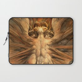 """William Blake """"The Great Red Dragon and the Woman Clothed in Sun"""" Laptop Sleeve"""