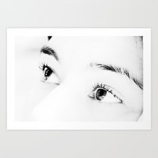 It's In The Eyes Art Print