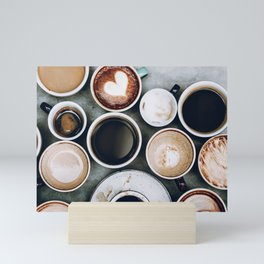 But First, Coffee II Mini Art Print