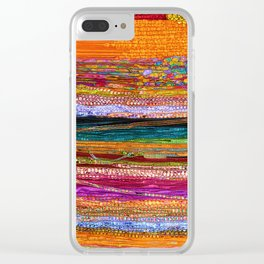 Indian Colors Clear iPhone Case