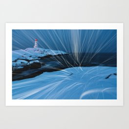 Whipping Winds Art Print