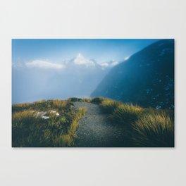 Routeburn Summit Canvas Print