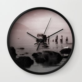 The Old Wreck Wall Clock