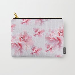 Pink Azalea Flower Dream #1 #floral #pattern #decor #art #society6 Carry-All Pouch