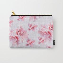 Pink Azalea Flower Dream #1 #floral #pattern #decor #art #society6 Carry-All Pouch