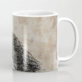 Raven Sketch Coffee Mug