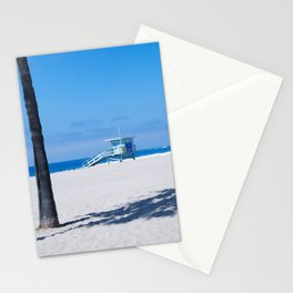 Lifeguard Tower I Stationery Cards
