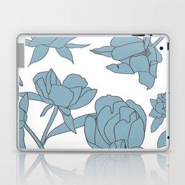 Roses in Blue Laptop & iPad Skin