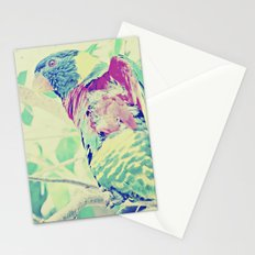 Colorful Bird Dreams  Stationery Cards