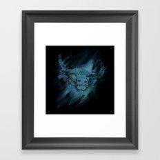 Calm Taurus Framed Art Print