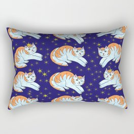 Cats That Shine In The Sky Rectangular Pillow
