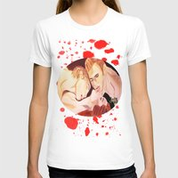 vampire diaries T-shirts featuring The Vampire Diaries  by Jonboistars