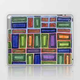 Melodic Rectangles Pattern Laptop & iPad Skin