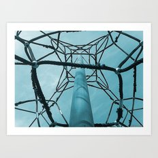 I'll get to the top Art Print