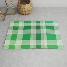 Green Plaid Rug