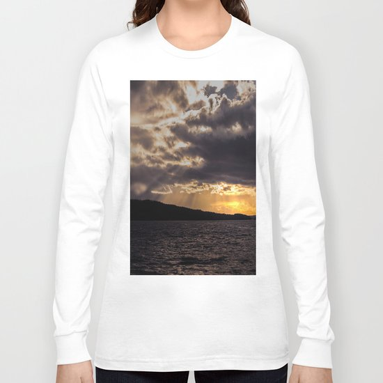 Dramatic change in the weather Long Sleeve T-shirt