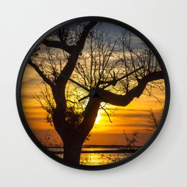 Crooked Tree Wall Clock