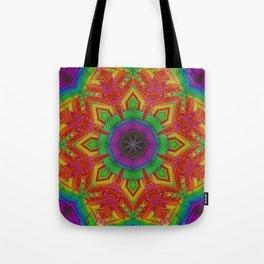 Hoop it Out Mandala Tote Bag Beach Shop Bag Hoop Dance Hipnotic Hoopla Hooper Gift Hoop Bag Hula Hoops Watercolors