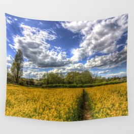 Summers Day Farm Wall Tapestry