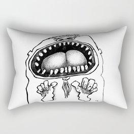 Tyrannosaur Boy Rectangular Pillow