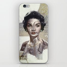 Queen of Egypt / Surrealism iPhone Skin