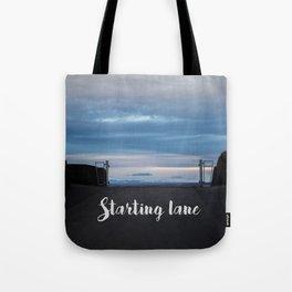 Starting Lane Tote Bag