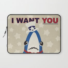 Left Shark Wants You Laptop Sleeve