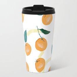 Mandarinas de Invierno Travel Mug