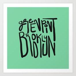 Greenpoint, Brooklyn Art Print