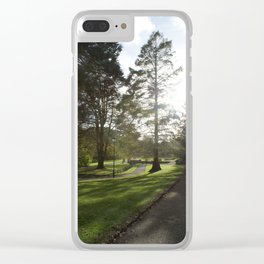 Cornwall Park Photo 1780 Peaceful Evening Clear iPhone Case