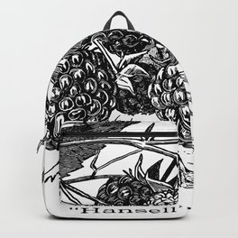 "'Hansell"" Raspberries 1886 Backpack"