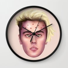 The Apotheosis of JustinBieber Wall Clock