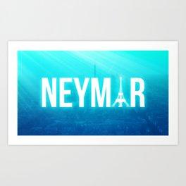 Neymar JR Art Print