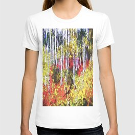Title: Glorious Colors - digital Silk Screen T-shirt